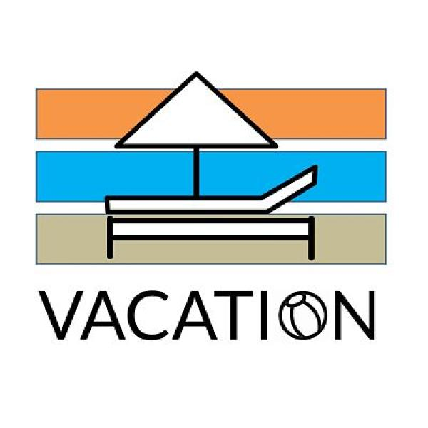 Vacation Wave Beach Basket