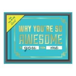 Why You're So Awesome - Fill in the Love Journal with Gift Box
