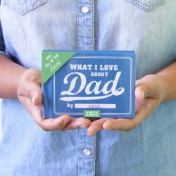 What I Love About Dad - Fill In The Love Journal
