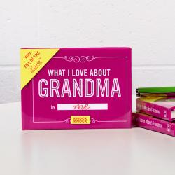 What I Love About Grandma - Fill In The Love Journal