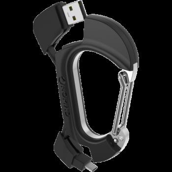 Carabiner MicroUSB Charging Cord