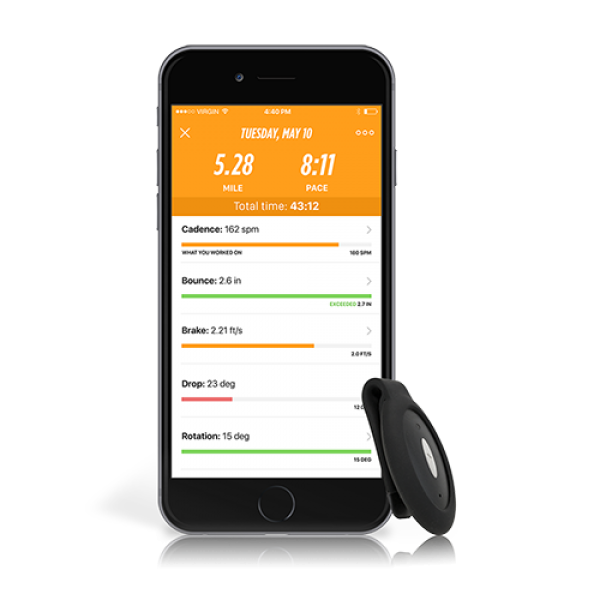 Lumo Run Sensor & Clip (iPhone only)