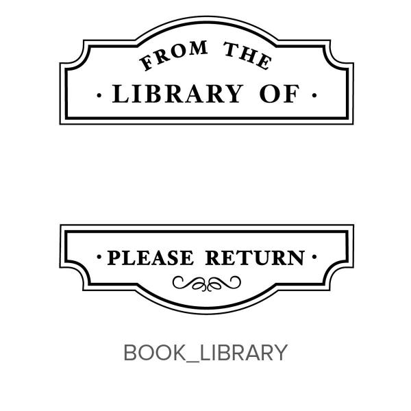 Book_Library Stamp