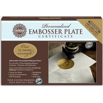 Custom Embosser Certificate