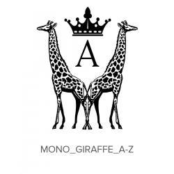Monogram_Giraffe_A-Z