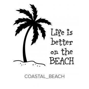 Coastal_Beach Stamp
