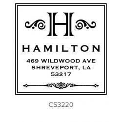 Custom Address Stamps CS3220