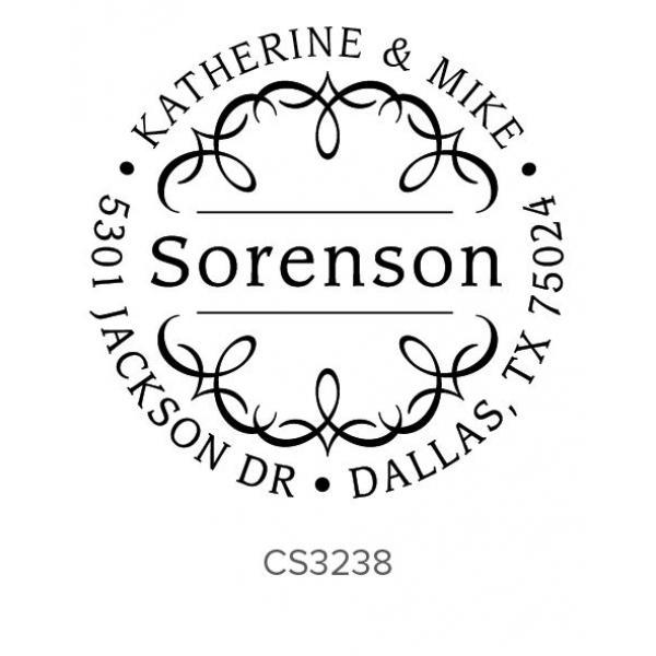 Custom Address Stamps CS3238