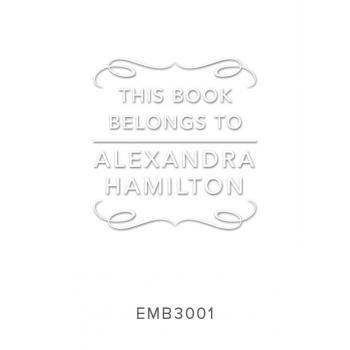 Custom Embossers Stamps EMB3001