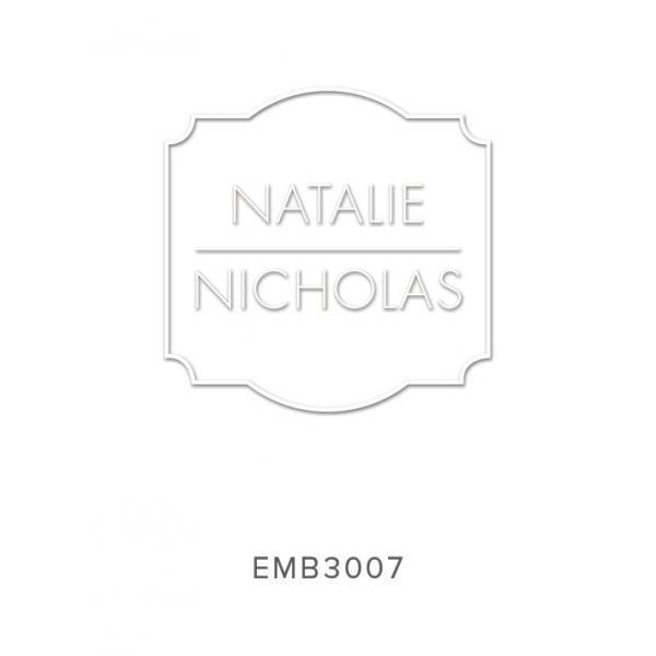 Custom Embossers Stamps EMB3007