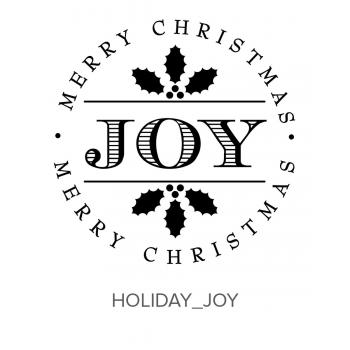 Holiday_Joy Stamp