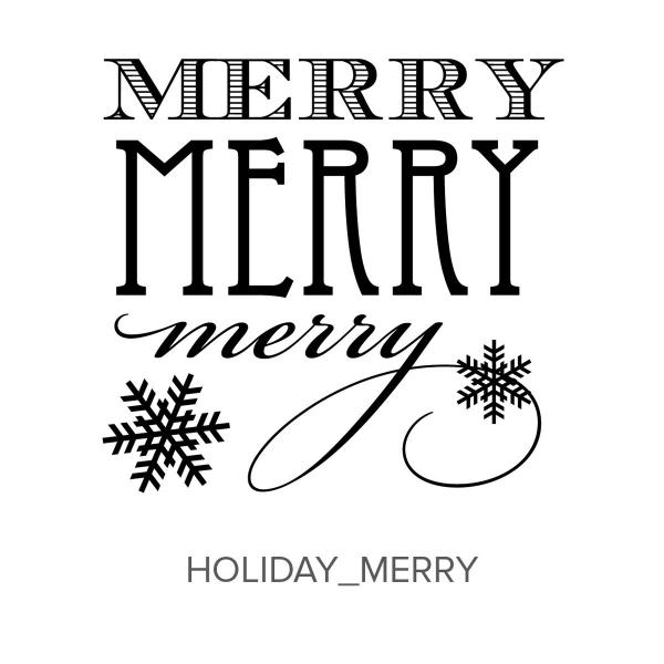 Holiday_Merry Stamp