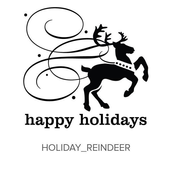 Holiday_Reindeer Stamp