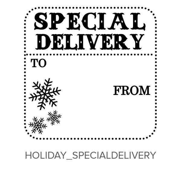Holiday_SpecialDelivery Stamp