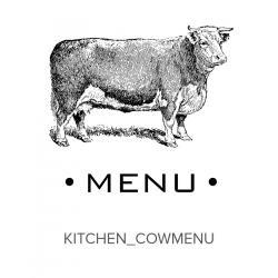 Kitchen_Cow Menu Stamp