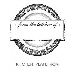 Kitchen_Plate From Stamp