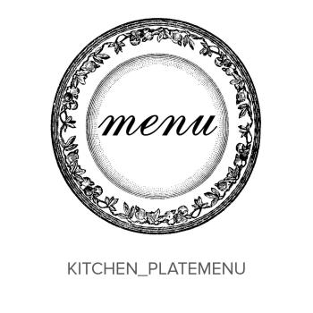 Kitchen_Plate Menu Stamp