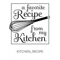 Kitchen_Recipe Stamp