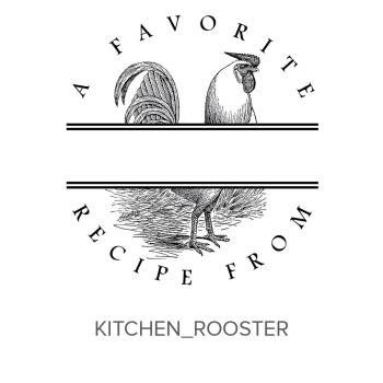 Kitchen_Rooster Stamp