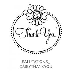 Salutations_DaisyThankyou Stamp