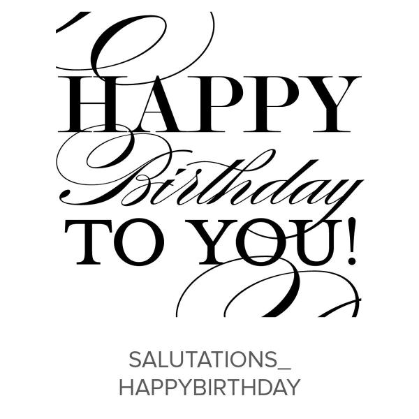 Salutations_HappyBirthday Stamp