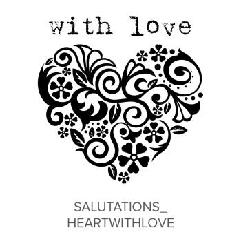 Salutations_HeartWithLove Stamp