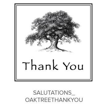 Salutations_OakTreeThankYou Stamp