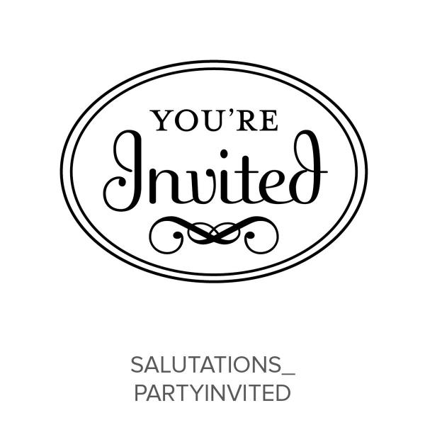 Salutations_PartyInvited Stamp