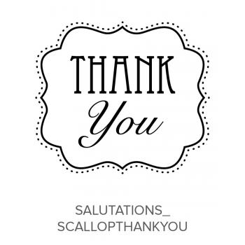 Salutations_ScallopThankyou Stamp