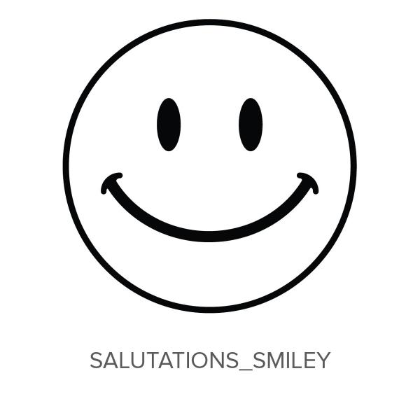 Salutations_Smiley Stamp